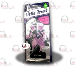 Little Trees Hanging Car and Home Air Freshener, Relax(Pack of 24)