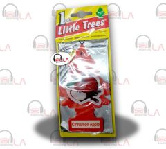 Little Trees Hanging Car and Home Air Freshener, Cinnamon Apple(Pack of 24)