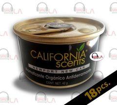 California Scents New Port New Car Air Freshener Box of 18