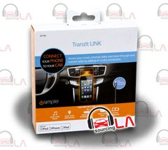 iSIMPLE IS7705 IS-7705 I-PHONE 5/5S / I-POD FM TRANSMITTER / TRANZIT LINK