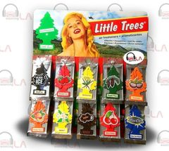 SET OF 12 PCS SALE!! Little Trees Car Home Office Hanging Air Freshener