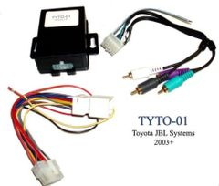 TOYOTA RADIO/STEREO OEM JBL AMP TURN-ON INSTALL INTERFACE/MODULE AXXESS TYTO-01