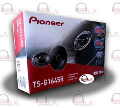 "PIONEER TS-G1645R 6-1/2"" 2-Way CAR AUDIO STEREO COAXIAL SPEAKERS"