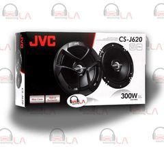 "JVC CS-J620 CAR AUDIO STEREO 6.5"" 2-WAY POWER SPEAKERS SET"