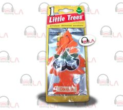 Little Trees Hanging Car and Home Air Freshener, Coconut (Pack of 24)