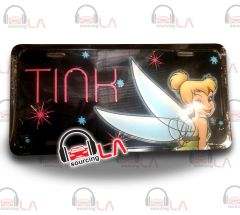 TinkerBell Novelty Car Metal License Plate