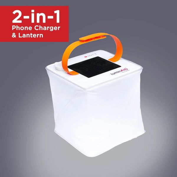 LuminAid Packlite Max 2-in-1 150 Lumin Solar Lantern