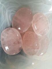 Rose Quartz Palm Stones