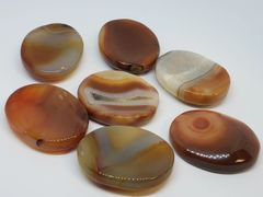 Carnelian Worry Stones