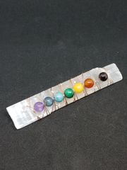 Selenite Chakra Wand Small