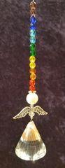 Chakra Angel Suncatchers