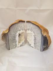 Agate Bookends (white)