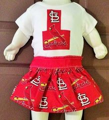 Girls Sports Themed Baby Onesy