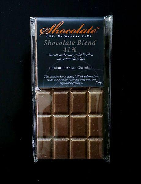 41% Shocolate Blend Milk Couverture Chocolate Bar