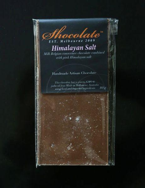 Milk Himalayan Salt Couverture Chocolate Bar