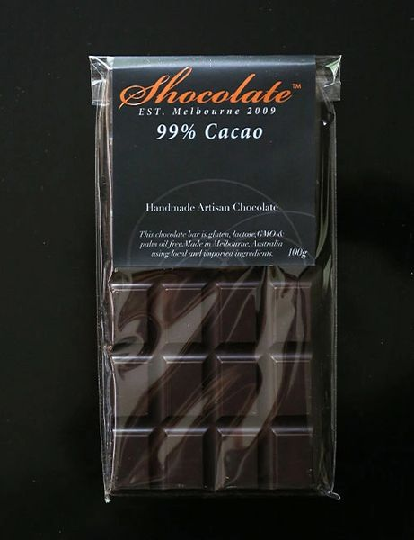 99% Extra Dark Couverture Chocolate Bar