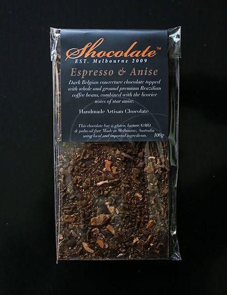 Dark Couverture Chocolate with Espresso & Star Anise