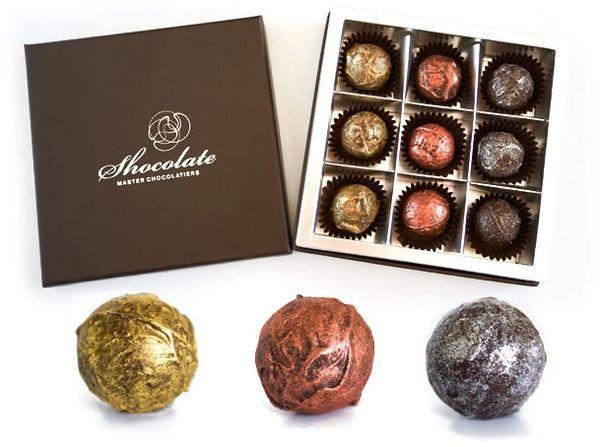 Shocolate 9 piece truffle gift box
