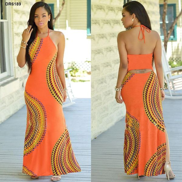 dfc88d0c5ba New Sexy Summer Long Maxi BOHO Evening Party Dress Beach Dresses Sundress