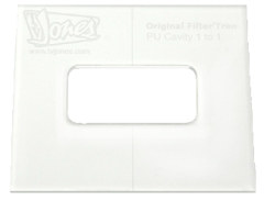 TV Jones Router Template - Original Filter'Tron Mount - Pickup Router Template