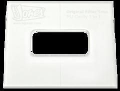 TV Jones Router Template - No Ears (NE) Filter'Tron Mount - Pickup Router Template