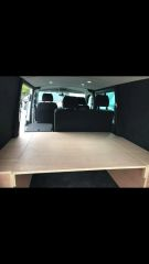 Fixed kombi bed system.