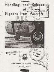 (1940) Handling and Release of Pigeons from Aircraft