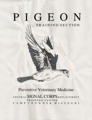 (1942) Pigeon Training Section: Preventive Veterinary Medicine