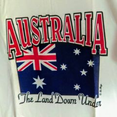 Australia Flag - T-Shirt by Le Pays International