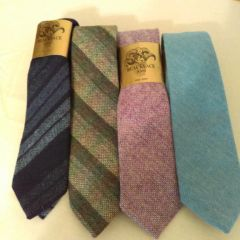 Ties - Blackface Wool from Scotland