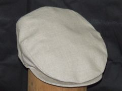 Irish Linen Flat Cap - Hanna Hats of Donegal
