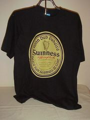Guinness T-shirt in Irish Gaelic... .