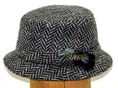 Irish Tweed Walking Hat - Hanna Hats of Donegal