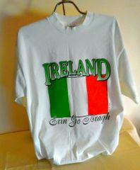 T-Shirts Ireland Tri-Colour Flag - by LePays