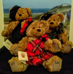 Teddy Bears - Scottish Button MacBear