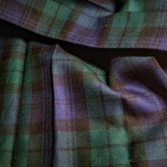 Black Watch Tartan - Worsted Wool Shoulder Plaid