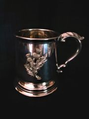 Pewter Thistle Tankard - Edwin Blyde of Sheffield