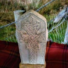 Celtic Standing Irish Stone Slab of Donegal - Celtic Imagery of Cornwall