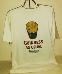 Guinness T-shirt - Smiley Face