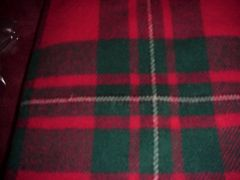 Scottish Brushed Wool Travel-Stadium Blanket - Hector Russell of Inverness