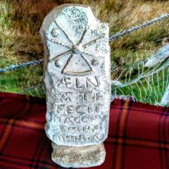 Celtic Cornish Standing Stone Slab - Celtic Imagery of Cornwall