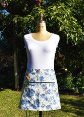 Short Apron Wrap Skirt