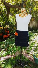 Short Apron wrap Skirt