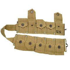 US Army M1 Cartridge Belt