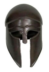 Medieval Ithalo Greek Corinthian War Helmet Reproduction – Antique Finish Circa 400BC