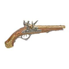 Colonial Napoleonic Double Barrel Flintlock Non-Firing Replica