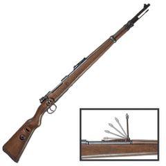 WWII German Mauser Karabiner K98 Bolt Action Rifle Denix Replica