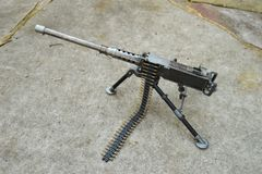 "WWII Ma Deuce BMG 50 caliber Miniature Machine Gun 13.5"" Desktop Replica"