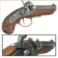 Civil War Philadelphia Derringer Cap Firing Replica Museum Quality