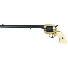 "1873 Single Action Buntline Special 17.5"" Revolver Gun - Black/Gold"